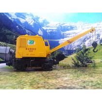 L54 Trenes Escala O Lionel Vagon Grua Burro Motorizada