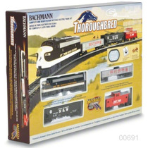 Tren Electrico Ho Bachmann Thoroughbred Set Inicial Completo