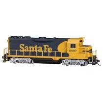 Locomotora Santa Fe War Bonnet, Escala Ho, Marca Bachmann