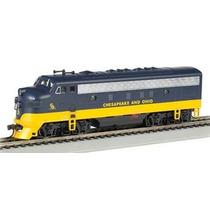 Locomotora Chesapeake And Ohio, Escala Ho, Marca Bachmann