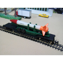 Trenes Escala N 1/160 Vagon Plataforma Carga Misil Usaf E