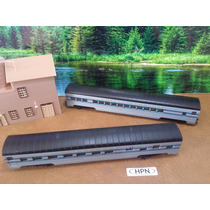 Hpn Trenes Escala Ho Set 2 Vagones Con-cor X Pza. O X Set