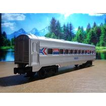 Opx Trenes Escala O Lionel Vagon Pasaje Amtrak 16023 Con Luz