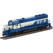 Locomotora Gp40 De Rf&p En Escala Ho.