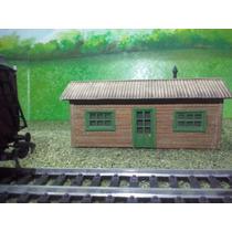 Tren Almacen De Madera Escala Ho Maqueta Trenes Arquitecto J