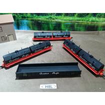 H8l Trenes Escala Ho Set 4 Vagones Canadian Pacific