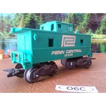 O6c Trenes Escala O Marx Vagon Caboose Penn Central 18325