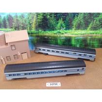 Hpm Trenes Escala Ho Set 2 Vagones Con-cor X Pza. O X Set