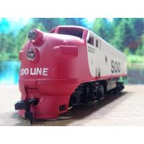 Hln Trenes Escala Ho Maquina Life-like Soo Line 2203 $300