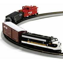 Athearn Tren Electrico Ho Set Completo Norfolk & Southern