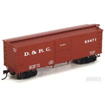 Roundhouse Ho Vagon Boxcar D&rg 63471/ No Athearn Atlas Ndem