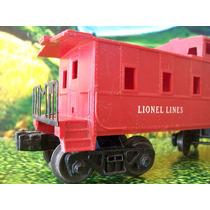 Lio Trenes A Escala O Lionel Vagon Caboose Lionel Lines 6047