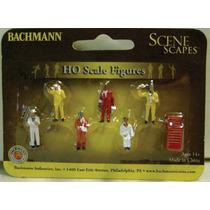 Bachmann Tren Ho Figuras Maqueta Mecanicos 1/87 / Athearn
