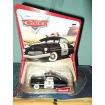 Cars Sheriff Primera Edicion Carton Con Imagen De Desierto