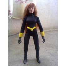 Marvel Figura De Black Widow 8 Pulgadas Traje De Tela Checa!