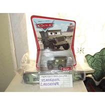 Cars Sarge Primera Edicion Carton Con Imagen Del Desierto