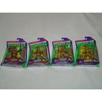 4 Tortugas Ninja De La Serie Nickelodeon Tmnt