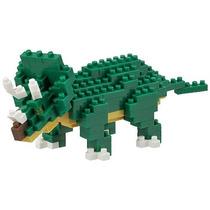 Nanoblock Triceratops Dinosaurio Nuevo Original Mini Bloques