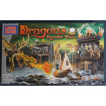Dragons Krystal War Set Mediano Marauders Cliff Mega Bloks