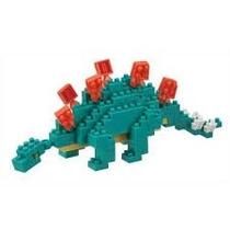 Nanoblock Stegosaurio Dinosaurio Nuevo Original Mini Bloques