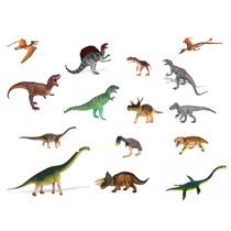 Safari Great Dinos Set De 15 Dinosaurios Pintado A Mano