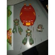 Lote De 2 Robot Convertible + Bioroid Hover Craft Robotech.