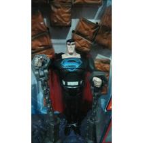 Superman Justice League Black Costume Unlimited Mattel