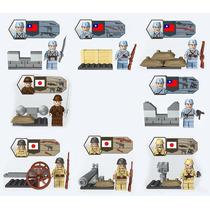 Soldados Segunda Guerra Mundial Japchin Compatibles Con Lego