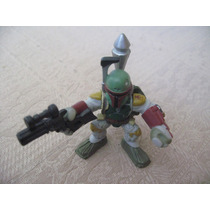 2008 Hasbro Star Wars Galactic Heroes Mini Boba Fett