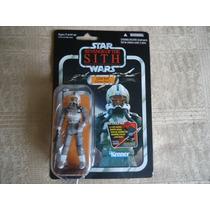 2012 Star Wars Vintage C Revenge Sith Odd Ball Clone Pilot