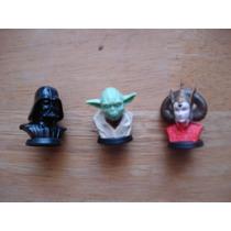 Mini Bustos De Cabezas Star Wars Miden 4 Cms En 40 Cada Una
