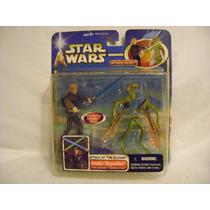 Anakin Skywalker Con Geonosians Warrior Slashing Action 2002