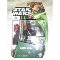 Darth Maul Movie Heroes 2013 Cartón Yoda Verde