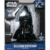 Darth Vader Star Wars Reloj Radio Despertador Envio Gratis