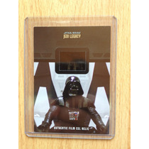 Tarjeta Star Wars Darth Vader Con Film Cel Relic Autentico