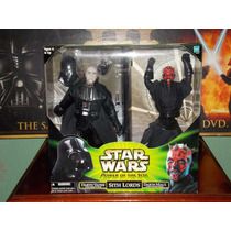Durge22: Darth Vader Darth Maul 12 Pulgadas Sith Lords Potj