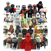 Super Set Sw5 Star Wars 30 Figuras Compatibles Con Lego