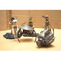 Lote 6 Figura Droids & Pilotos Podos Star Wars Ve Descripcio