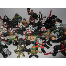 Star Wars Figuras Lote 30 Hasbro Darth Vader Han Luke Mogul