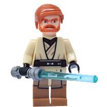 Star Wars Obi Wan Kenobi Figura Compatible Con Lego