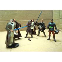 Star W Lote Obi Wan Kenobi & 5 Figura Ve Descripcion