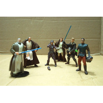 Star W Lote Obi Wan Kenobi & 5 Figura Ve Descripcion
