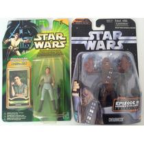 Lote De Star Wars - Leia Organa General Y Chewbacca