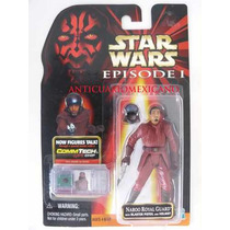 Star Wars Episodio I Naboo Royal Guard Rojo Muy Raro