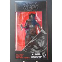 Star Wars - Kylo Ren 6 Pulgadas - Nuevo Black Series