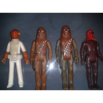 Figuras De Star Wars Chewbacca,ackabar,royar Guard De Kenner