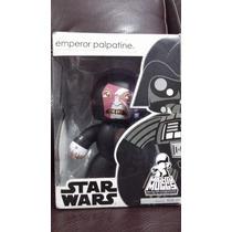 Emperador Palpatine Figura Coleccionable Mighty Muggs Hasbro