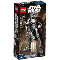 Lego Star Wars Captain Phasma Armable Set 86 Pzs - 75118
