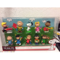 Set De Figuras De Charlie Browns School Bus Peanuts