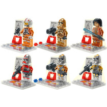 Star Wars Troppers Version Cristal Compatibles Con Lego